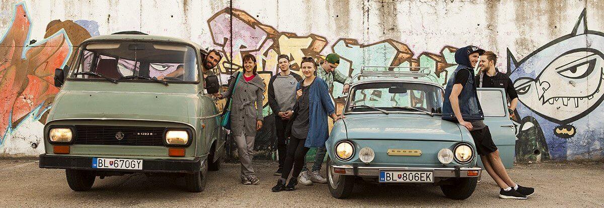Retro Skoda cars, by Authentic Slovakia