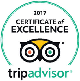 TripAdvisor Certificate of Excellence Authentic Slovakia 2017