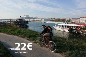 Bratislava Iron Curtain Bike Tour by Authentic Slovakia