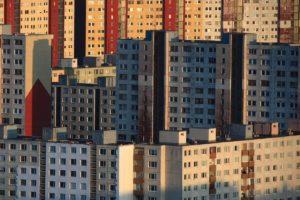 Panelaky Prefabricated Communist-era Housing Estates in Petrzalka Bratislava