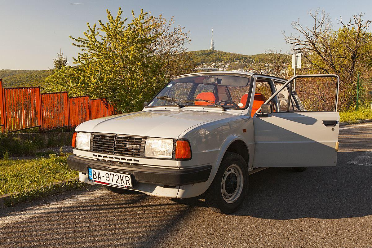 Skoda car model 120: Post Socialist City Tour by Authentic Slovakia