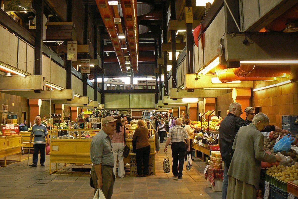 Trznica New Market Hall Interiors in Bratislava