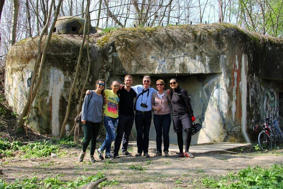 WWII Bunker and Bratislava Iron Curtain Bike Tour, by Authentic Slovakia