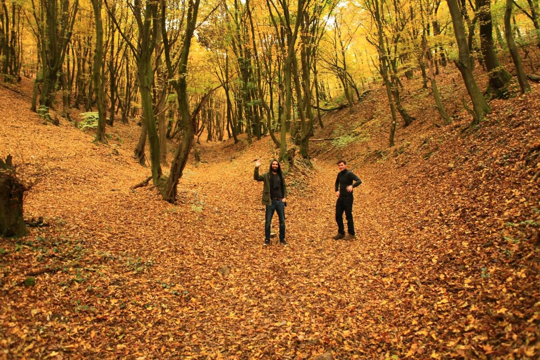 Hiking in Little Carpathian mountains