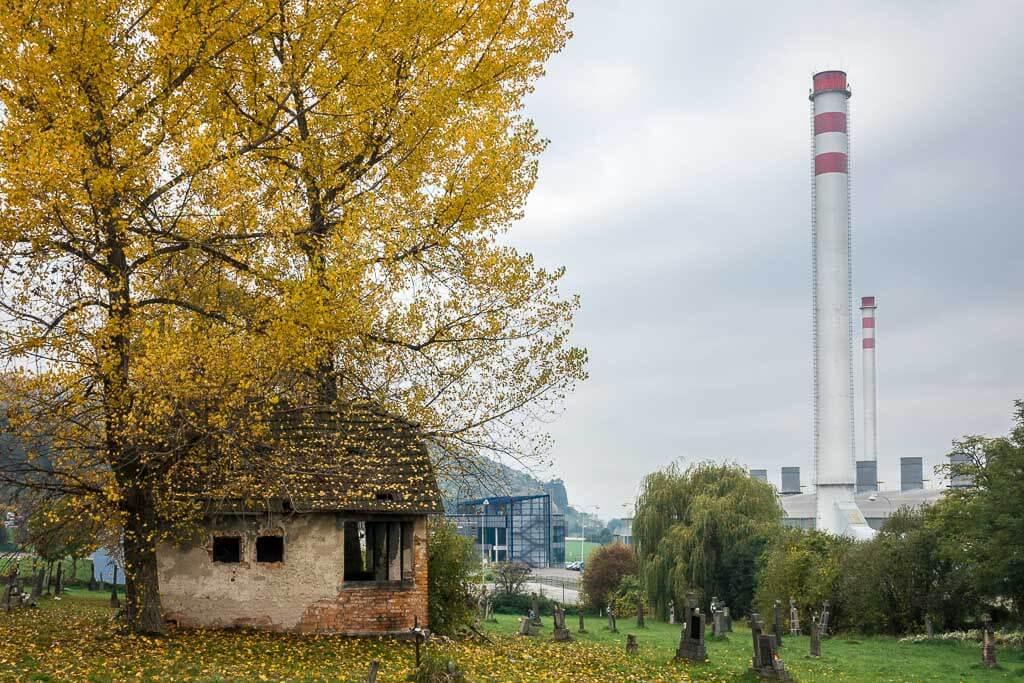 Horné Opatovce abandoned village near Žiar nad Hronom