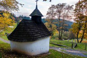 Kalište abandoned village in Low Tatra Mountains