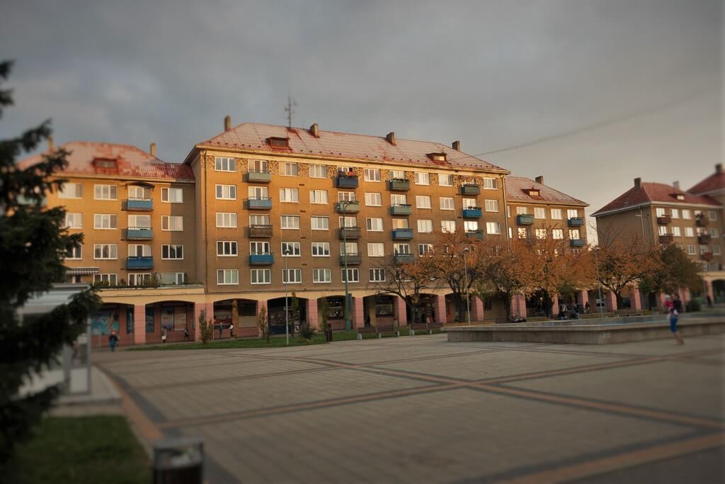 Socialist town of Nová Dubnica