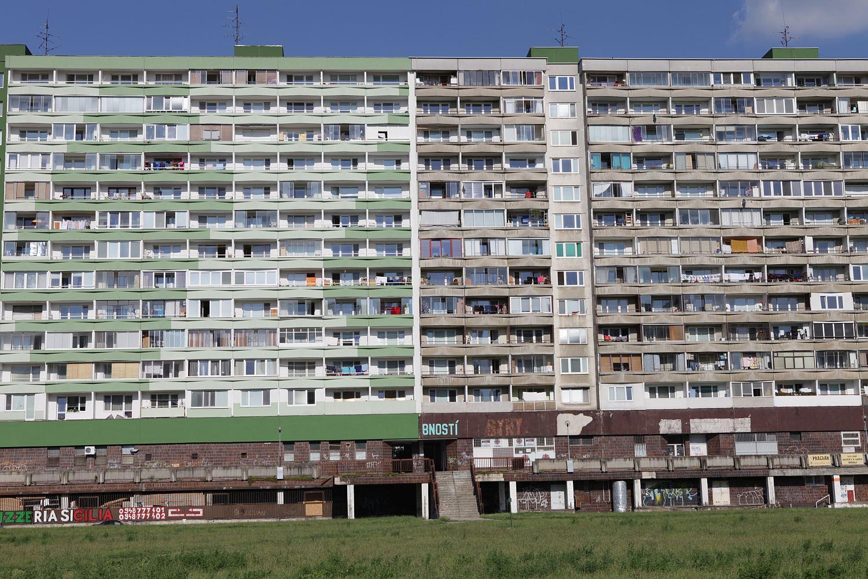 Communist housing estates in Bratislava