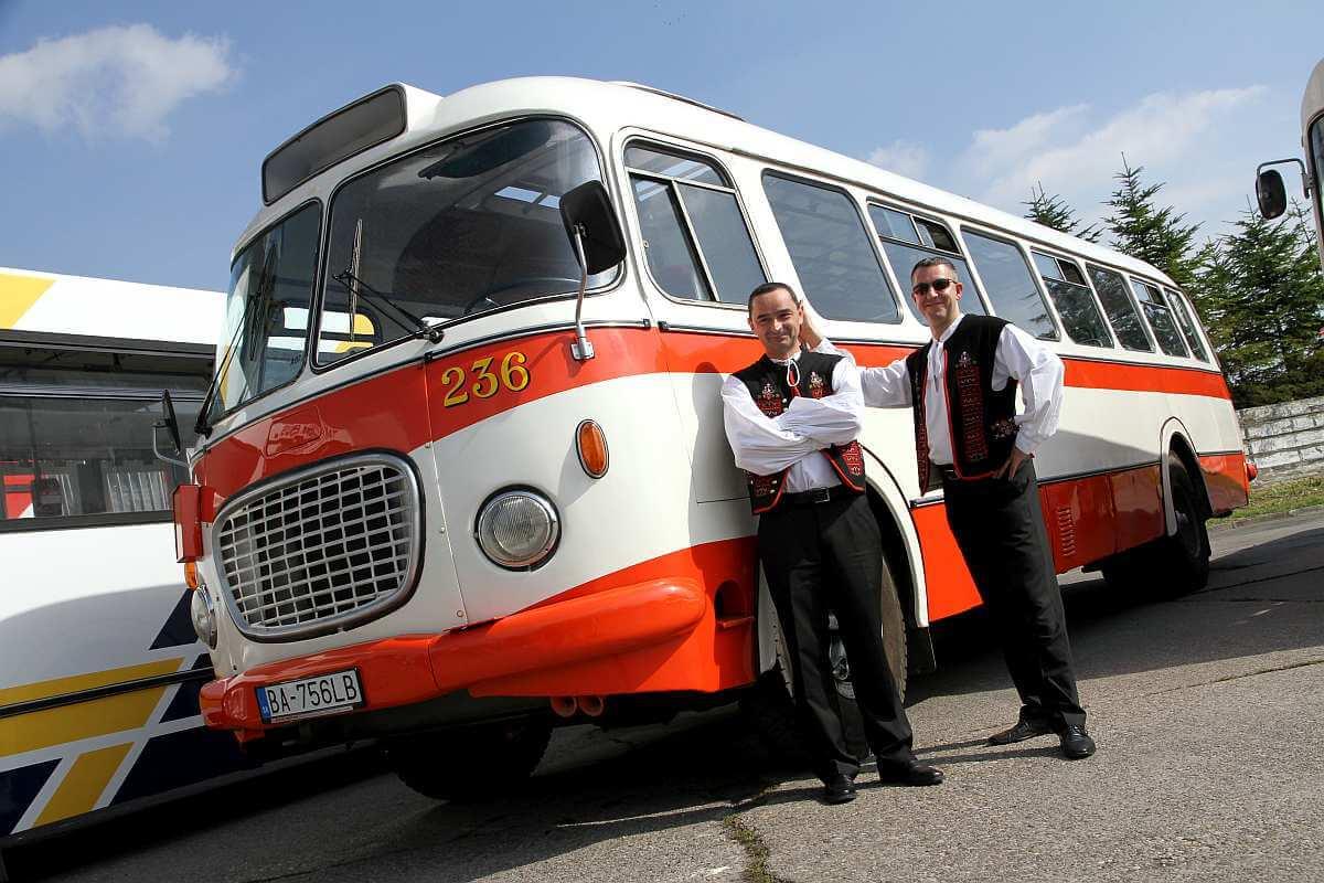 Retro bus Škoda RTO, by Dopravny podnik Bratislava