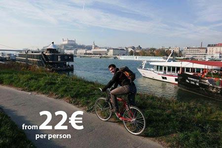 Bratislava Iron Curtain Bike Tour, by Authentic Slovakia