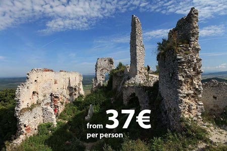 Carpathian Castle Ruins Tour, from Bratislava, by Authentic Slovakia