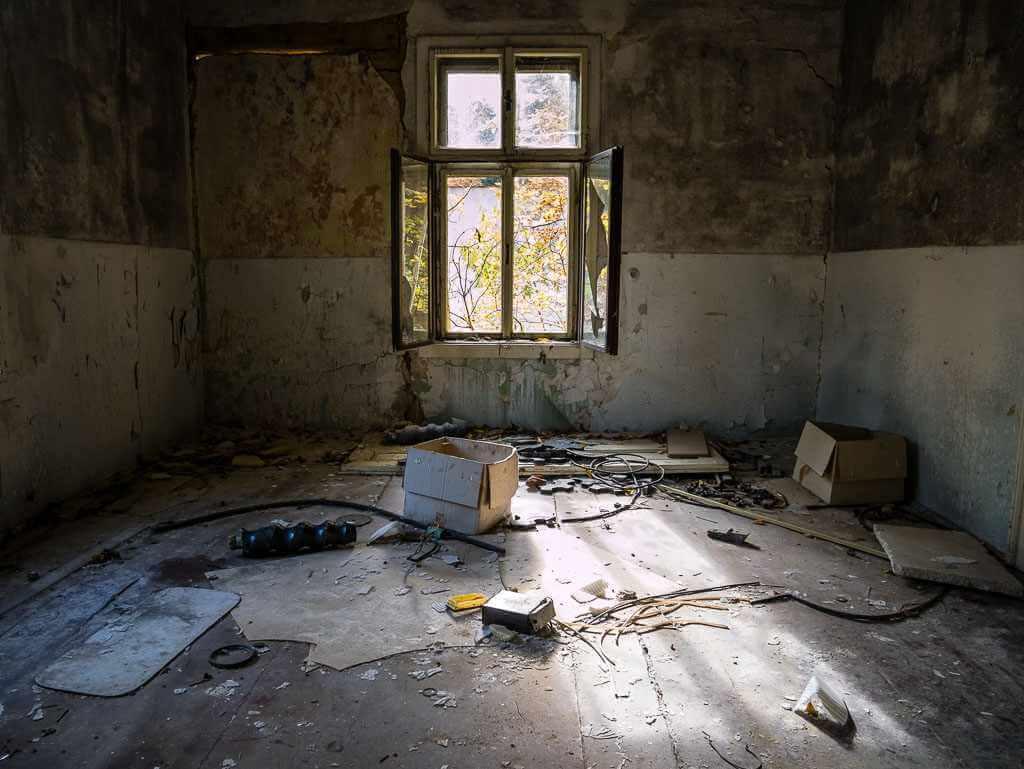 Abandoned Korytnica spa in Central Slovakia
