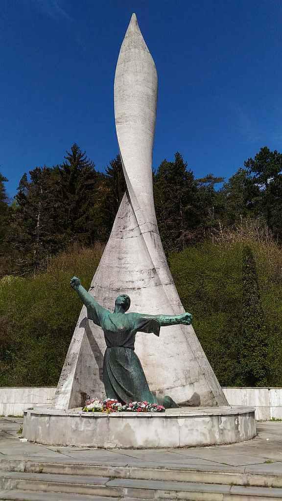 Nemecká WWII Memorial in Central Slovakia