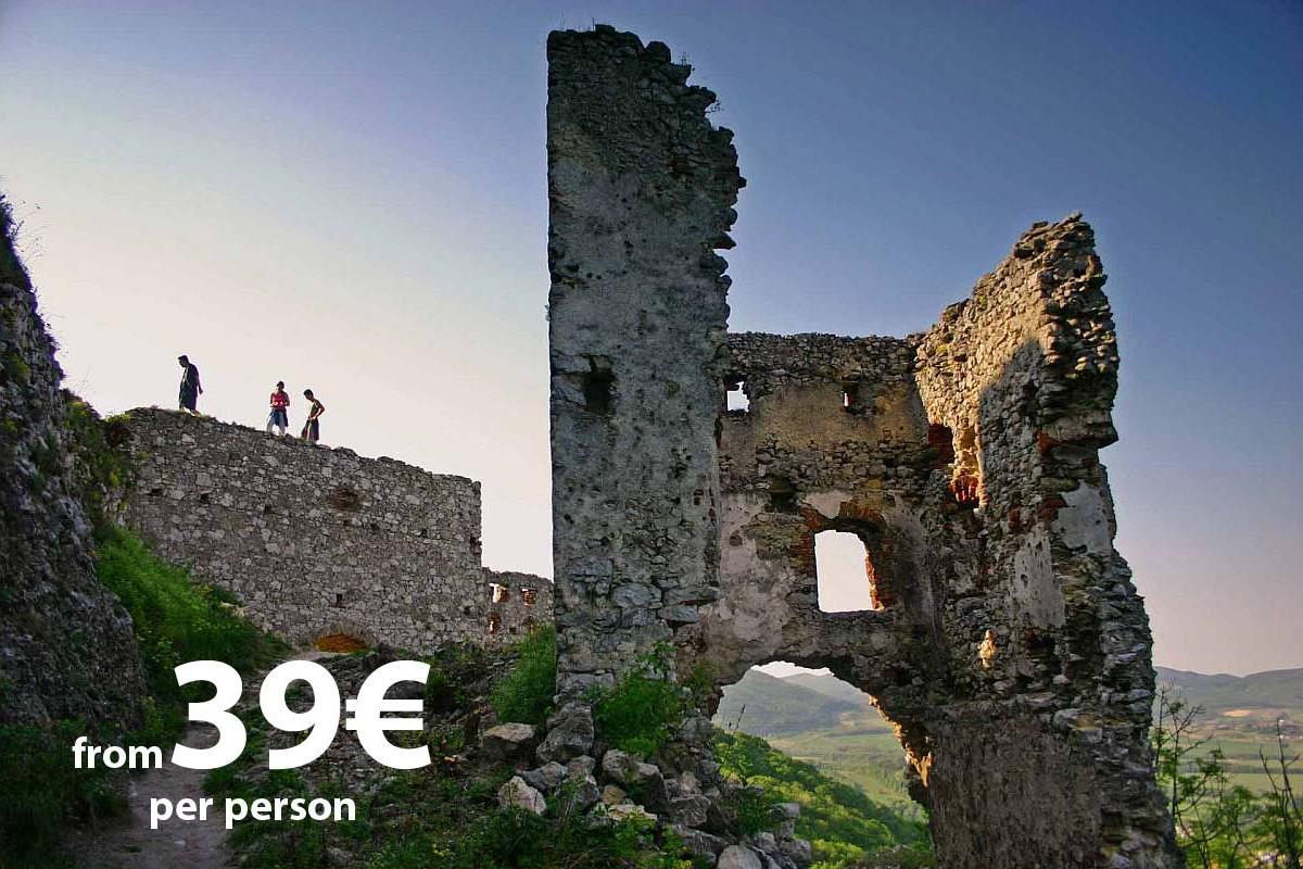Carpathian Castle Ruins Tour by Authentic Slovakia
