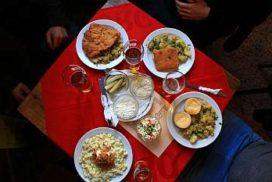 Bratislava Working Class Food Tour menu