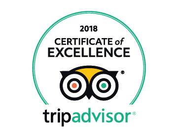 Authentic Slovakia Certificate of Excellence 2018 by TripAdvisor