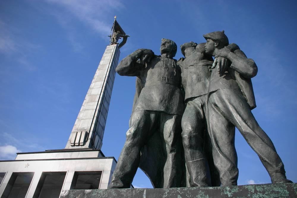 Slavin WWII Memorial in Bratislava