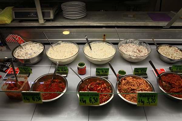 Bratislava Traditional Fast Food Salad