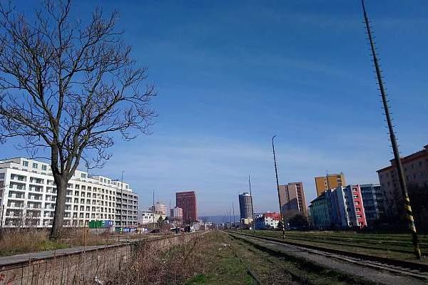 Bratislava Filialka abandoned train station