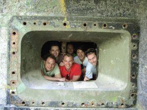 Bratislava Iron Curtain Bike Tour In WWII bunker