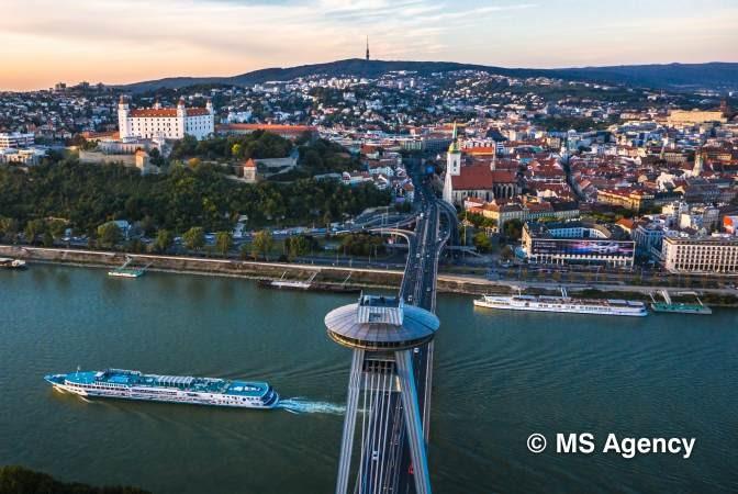 Bratislava Panorama, by MS Agency