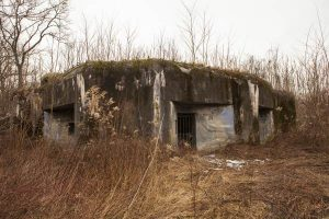 Bunker BS 3, one of 1930's Czechoslovak bunkers built against the potential German invasion