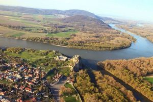 Devín castle situated above the confluence of rivers Danube and Morava - one of the most significant castles in Slovakia had limited access for public due to proximity to Austrian borders