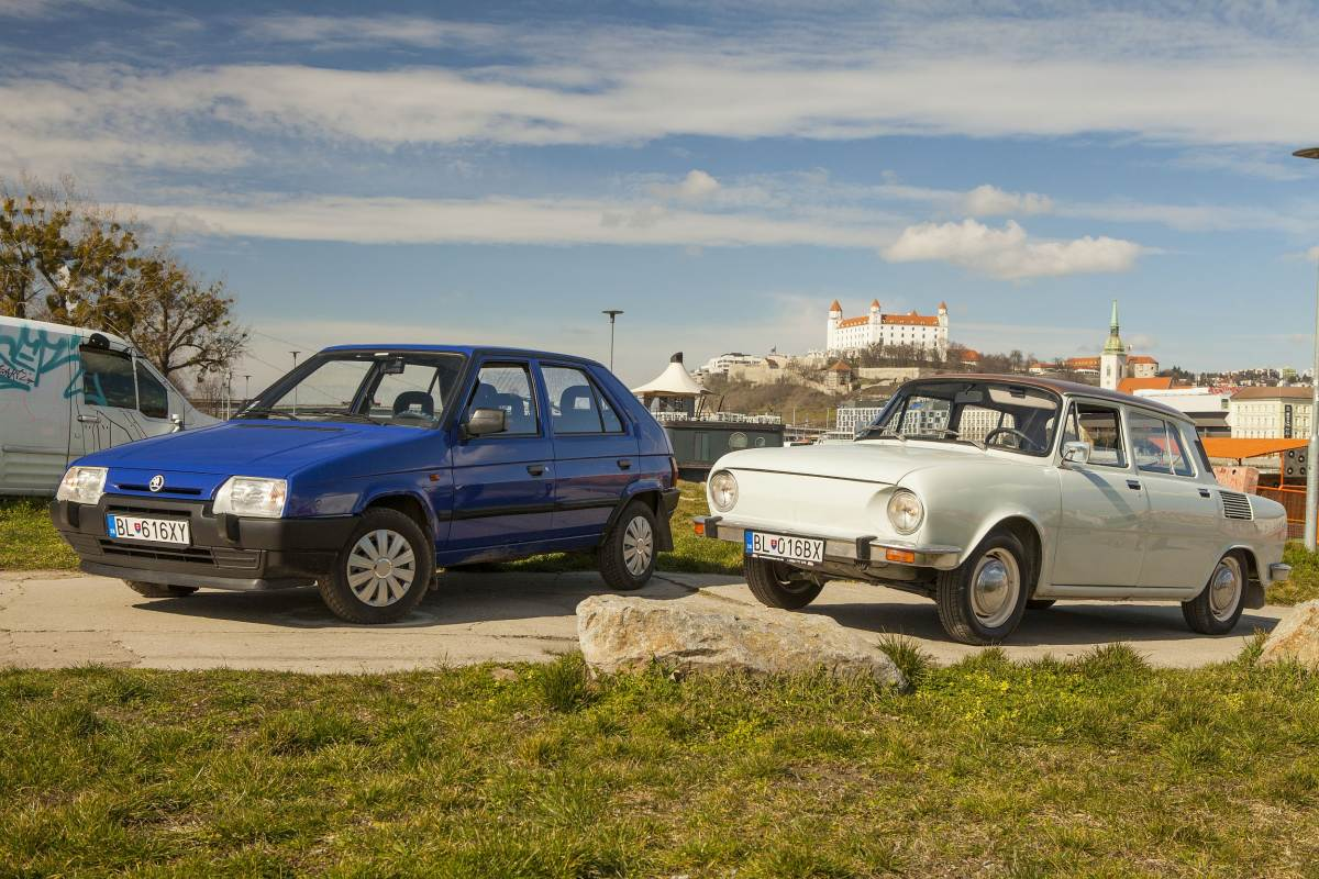 Skoda 110 and Favorit