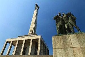 Slavín WWII Monument in Bratislava