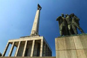 Slavin Soviet Memorial in Bratislava