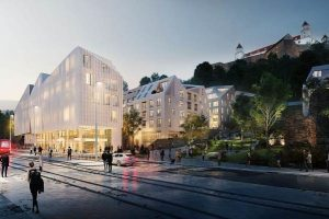 Vydrica - the redevelopement project in the very city centre of Bratislava
