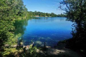 Swimming outdoor bratislava cunovo lake authentic slovakia
