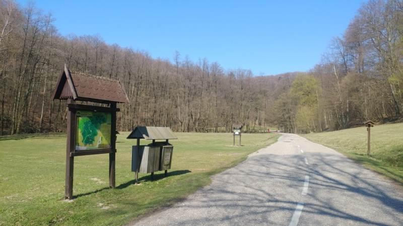 Bratislava Forest Carpathian bike route