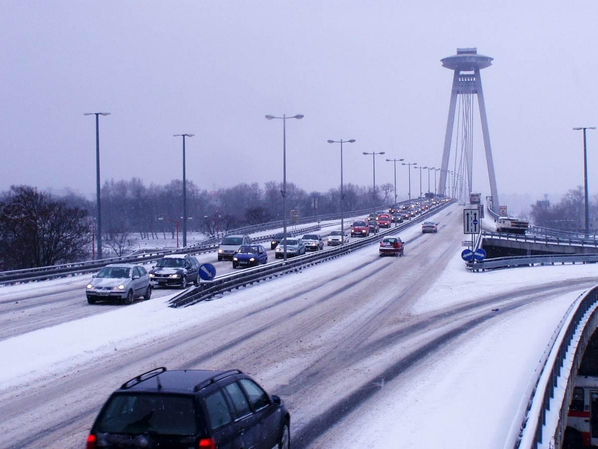 Winter in Bratislava