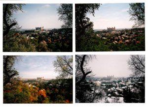 Four seasons in Bratislava