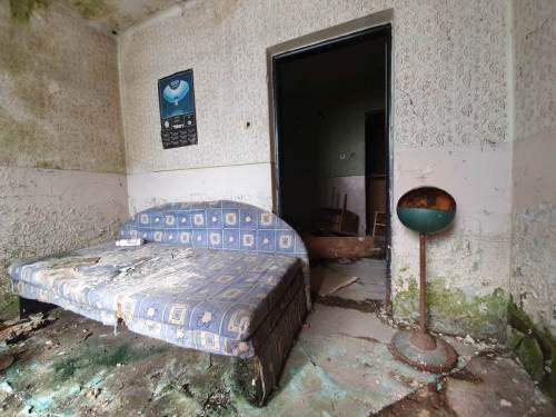 Urbex Bratislava creepy interior