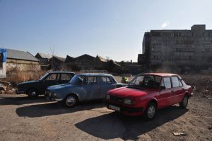 Urbex Bratislava Matador and Enamel factory with Skoda cars