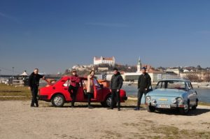 Bratislava guided tour castle Danube and Skoda cars
